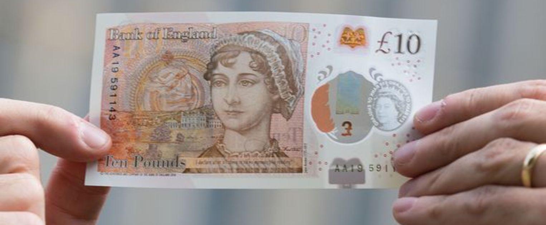 billet de banque jane austen