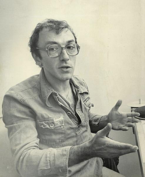 le comédien André Montmorency 19 juin 1981 PHOTO LES ARCHIVES / LE JOURNAL DE MONTREAL