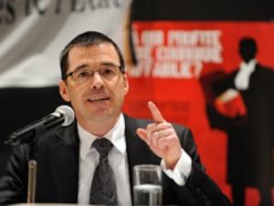 Le président de l'Association des procureurs aux poursuites criminelles et pénales, Christian Leblanc.