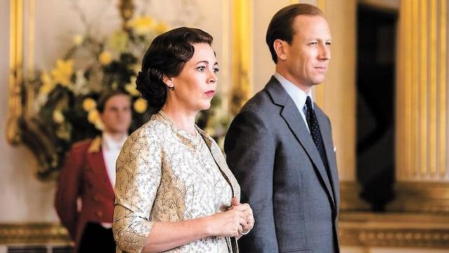 Elizabeth et Philip (Tobias Menzies)