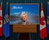 La première ministre de l'Alberta, Rachel Notley.