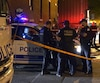 Vers 19 h mardi, les policiers ont été appelés concernant un homme qui était en train de tout démolir dans son appartement.