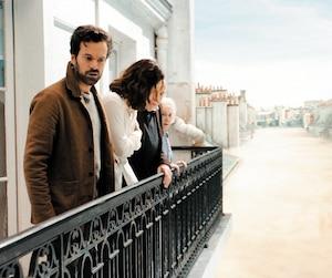 Romain Duris dans le film <i>Dans la brume</i> du réalisateur québécois Daniel Roby.