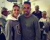 Raphael Alexander Joly ancien joueur étoile des Cobras qui évolue présentement en Allemagne et Céline Dion.