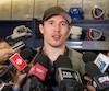BRENDAN GALLAGHER lors du bilan de fin de saison des Canadiens de Montréal au Complex sportif Bell, Brossard, 11 avril 2016. PIERRE-PAUL POULIN/LE JOURNAL DE MONTRÉAL/AGENCE QMI