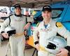 Les Québécois David Bensadoun (à gauche) et Patrick Beaulé participeront au mythique Rallye Dakar à bord de leur nouveau bolide CR6 fabriqué en Afrique du Sud.