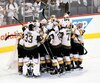Les Golden Knights de Vegas ont éliminé un troisième adversaire ce printemps et ils se battront au prochain tour pour l'obtention de la coupe Stanley.