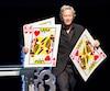 Après avoir charmé les Français dans les dernières années, Alain Choquette présentait mercredi, à Montréal, la 581ereprésentation de son spectacle <i>Drôlement magique</i>.