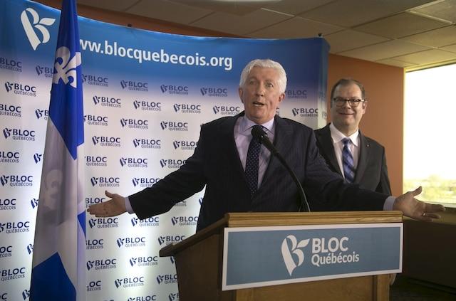 Gilles Duceppe redevient chef du Bloc québécois. Il succède à Mario Beaulieu.
