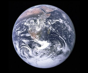 Bloc planète terre globe