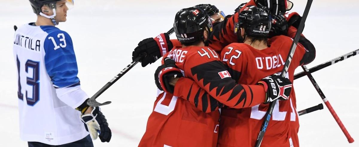 Le Canada passe en demi-finale au tournoi de hockey masculin