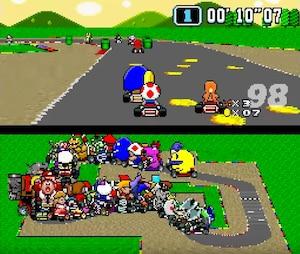 Super Mario Kart à 101 joueurs