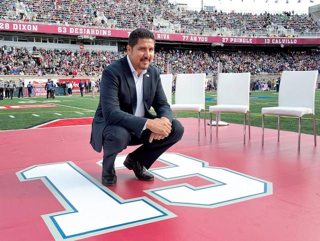 20 saisons dans la LCF, dont  16 avec les Alouettes, de 1998  à 2013, trois saisons avec  les Tiger-Cats de Hamilton  (1995, 1996, 1997) et une avec  le Posse de Las Vegas (1994)