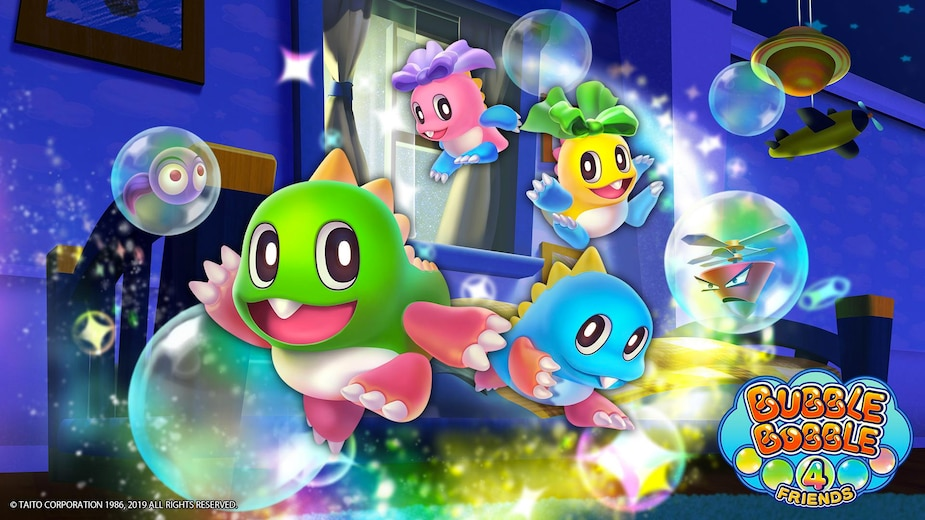 Image principale de l'article Il y aura Bubble Bobble exclusif à Switch