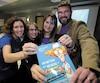Céline Gallet, Stéphanie de Champlain, Jennifer Poirier et Yannick Lemay, alias Ygreck, ont pondu le livre <i>Un métier sur mesure !</i>, un récit illustré à saveur humoristique.