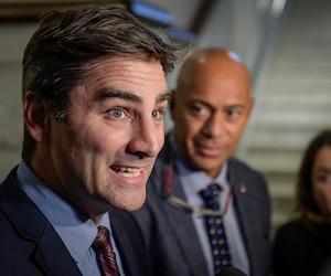 Le chef de Québec 21, Jean-François Gosselin