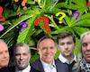 Les partis politiques de l'opposition promettent de modifier la loi sur le cannabis. La CAQ promet les plus gros changements en augmentant l'âge minimal à 21 ans et faisant passer la quantité maximale de 150 grammes à la maison et 30 grammes à l'extérieur à 15 grammes par personne en tout temps.