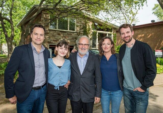 Benoit Gouin, Jade Charbonneau, Michel d'Astous, Pascale Bussières et Jean-Philippe Perras