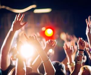 bloc musique spectacle show foule