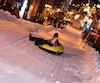 Le 47e Carnaval de Sherbrooke La glissade sur la rue King est de