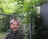 Le petit Logan portant une casquette rose qui lui aurait valu des insultes