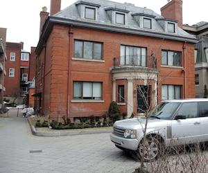 Hans Black a été condamné à rembourser une somme de 234 086 $ US (329 429,23 $ CAN) à trois clients, dont une église située au nord du New Hampshire, dans une poursuite logée contre lui aux États-Unis. Ici, les bureaux d'Interinvest à Montréal.