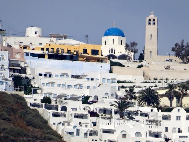 Santorini en Grèce.