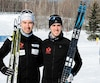 Antoine Briand (à gauche) et Philippe Boucher ont obtenu leur invitation aux finales de la Coupe du monde après avoir chacun remporté une épreuve aux récents championnats canadiens.