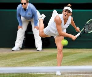Simona Halep a été intraitable face à Serena Williams, samedi.