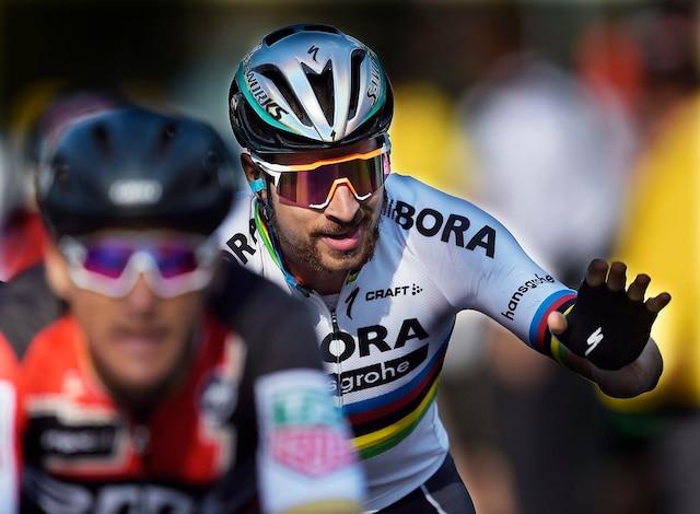 Peter Sagan a remporté l'épreuve de Québec des Grands Prix cyclistes, ce vendredi 8 septembre, signant du même coup sa 100e victoire en carrière.