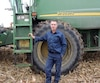 Réjean Racine craint que l'industrie laitière soit encore perdante dans les négociations avec les États-Unis.