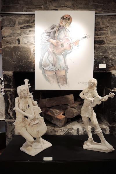 56 œuvres sont présentées à la galerie.