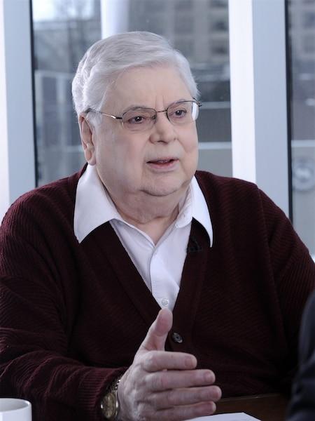 Réal Giguère en entrevue avec Éric Salvail, pour l'émission spéciale: L'homme derrière l'image.