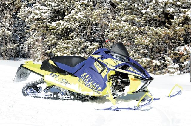 La B-TX LE représente probablement la meilleur motoneige hybride chez Yamaha en 2019.