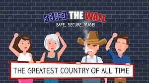 Bâtissez LE mur de Trump dans ce jeu de société