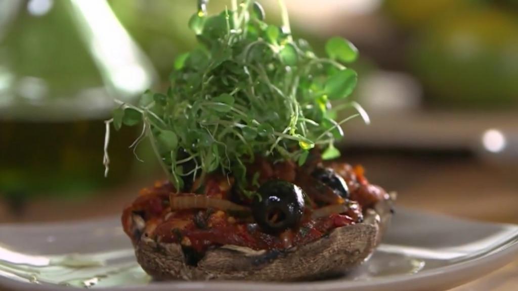 Champignons grillés à la provençale