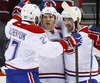 Alex Galchenyuk, Brendan Gallagher et Paul Byron