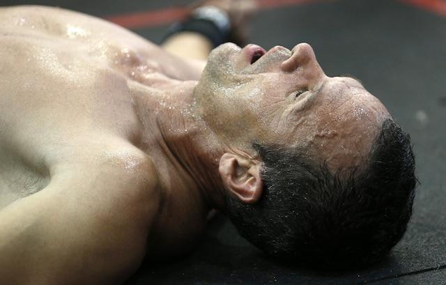 Les athlètes de Crossfit poussent leur corps à la limite.