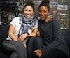Roseline Filion et Jennifer Abel étudient à l'École de radio et télévision Promédia, deux jours par semaine.
