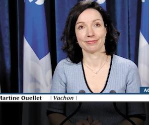 Le 22 février dernier, la députée a tenu une conférence de presse à laquelle aucun journaliste n'a assisté.