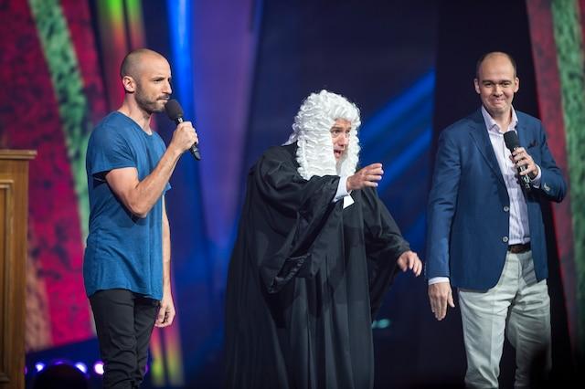 Guillaume Wagner, Antoine Vézina et Guy Nantel.