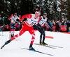 Le Québécois Alex Harvey a pris le neuvième rang de l'épreuve de 50 km de la Coupe du monde de ski de fond d'Oslo, en Norvège, samedi.