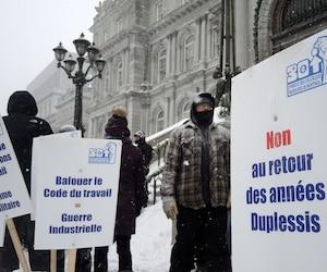 Le Syndicat des cols bleus de Montréal dit qu'une amende de 2 M$ pourrait l'empêcher d'offrir des services adéquats à tous ses membres.