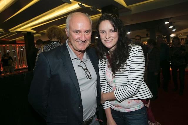 Louis-Georges Girard était accompagné de sa fille, Fannie St-Cyr. «J'aime bien ce que Michel Poirier fait à la mise en scène. Le duo Robitaille-Leclerc fait aussi partie des raisons pour lesquelles je viens voir la pièce.»