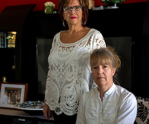 Raymonde Faubert et Annick Hupperetz
