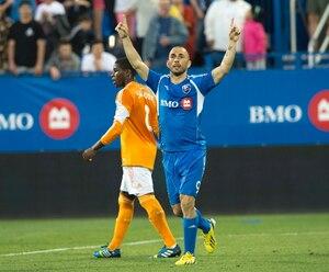 Marco Di Vaio a inscrit son 10e but de la saison dans une victoire de 2 à 0 de l'Impact contre Houston.