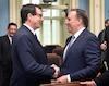 Philippe Couillard, Asemblee Nationale, premier ministre, parlem