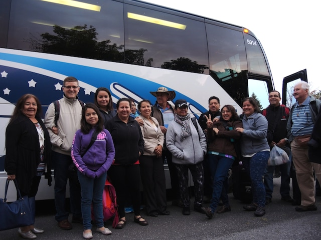 Ces membres de la communauté latino-américaine de Québec s'en vont aux États-Unis dans l'espérance de voir le pape au cours du week-end