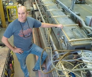 Sébastien Duguay de Quadra Plast entend profiter des mois plus tranquilles pour trouver de nouveaux employés et les former pour qu'ils puissent être prêts à travailler pour la compagnie l'été prochain.