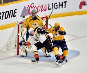 Malgré le résultat, l'ancien du Canadien de Montréal a tout de même aimé ce qu'il a vu de son équipe en troisième période.
